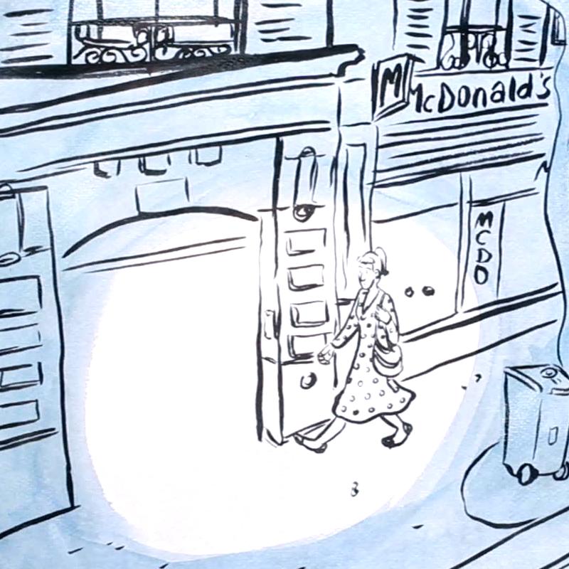 AMOUR(S) À CLIGNANCOURT – Le Fantôme